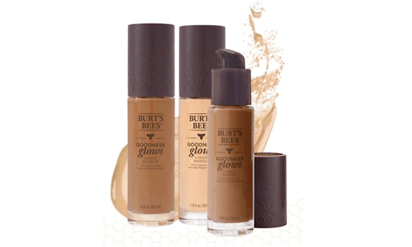 Get a FREE Burt's Bees Goodness Glows Liquid Foundation!