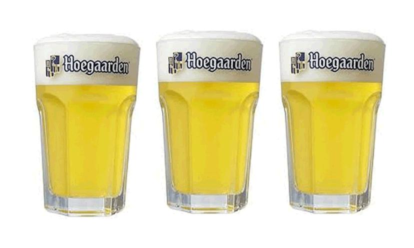 Get a FREE Hoegaarden Beer Glass!