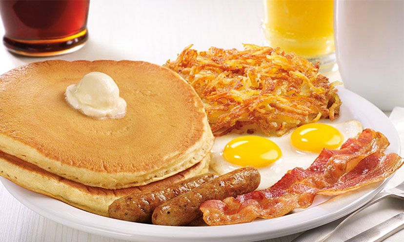 Get a FREE Original Grand Slam from Denny's!