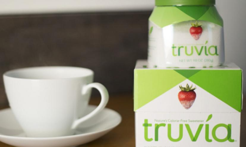 Get a FREE Sample of Truvia Natural Sweetener!