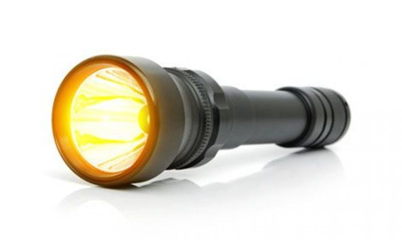 Flashlight Out of Batteries? Here's a Tip to Make it Work!
