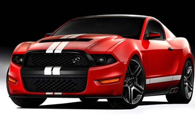 Enter to win a 2014 Ford Mustang!