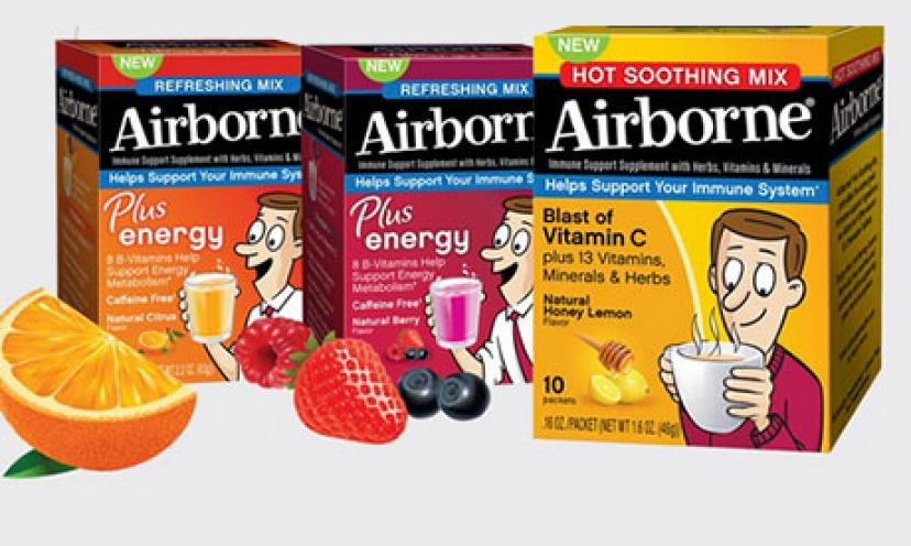 Hurry! Get Your Free Airborne and Boost Your Immune System!
