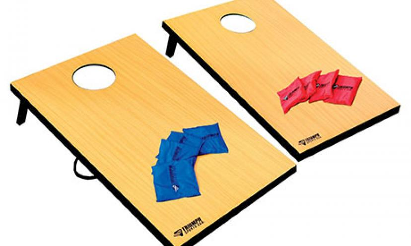 Perfect for Football Tailgates and Backyard BBQ's – Save 20% on this Bag Toss Game!