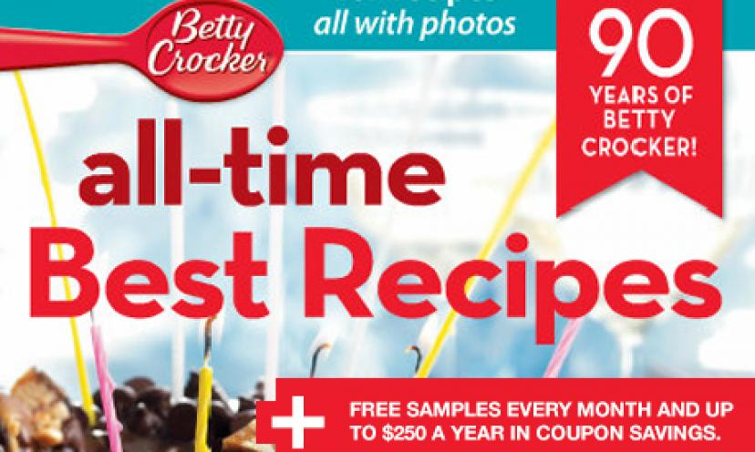 Become a Betty Crocker Member And Receive Exclusive Freebies!