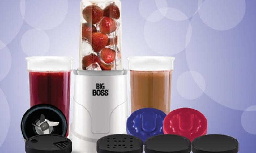 Save 30% On the Big Boss Blender and Soup Maker!