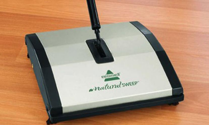 Enjoy 43% Off The BISSELL Natural Sweep Dual Brush Sweeper!