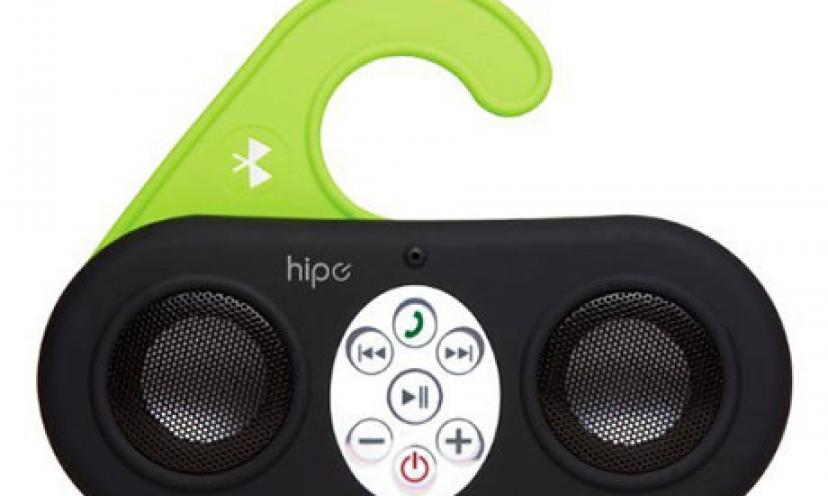 Get 65% Off This Waterproof Wireless Shower Speaker!