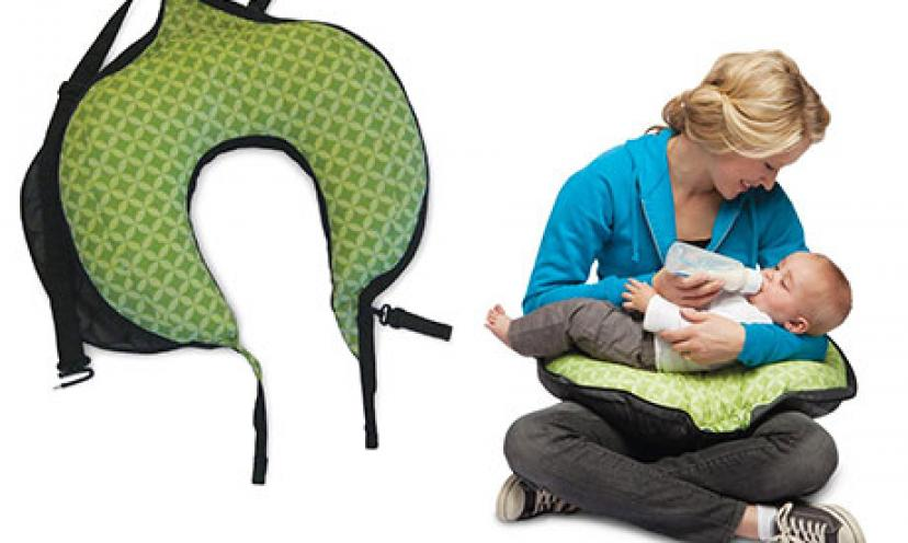 Save 50% on this Convenient Boppy Travel Pillow for You and Your Baby!