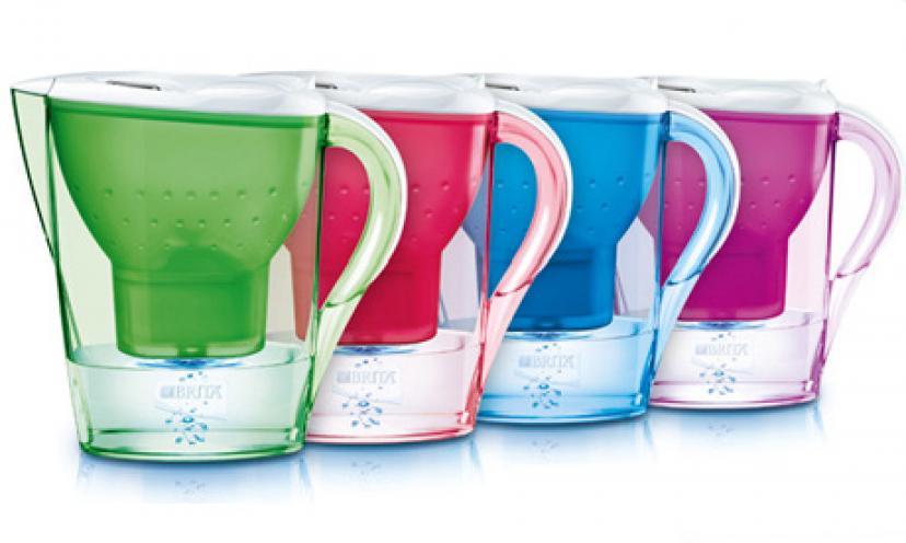 Save 32% On a Brita Slim Water Filter Pitcher!