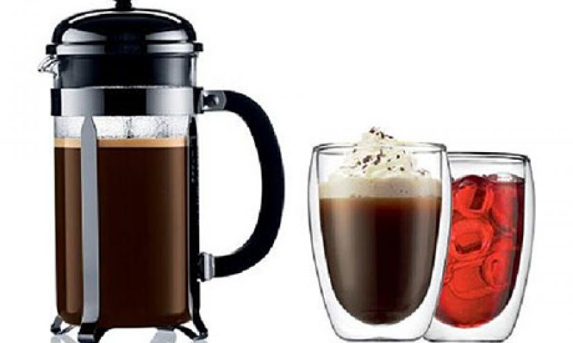Step Up Your Coffee Game! 32% Off this French Press