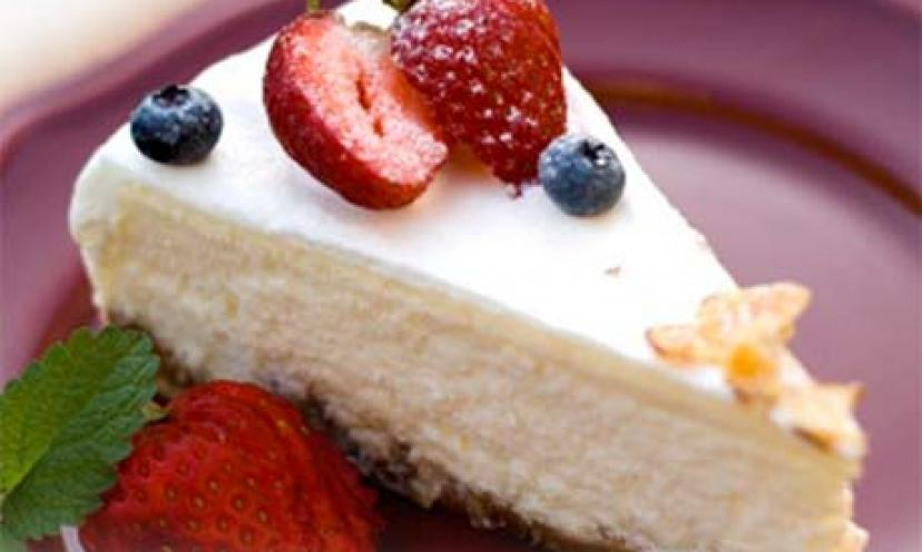 Free eCookbook for Cheesecakes!