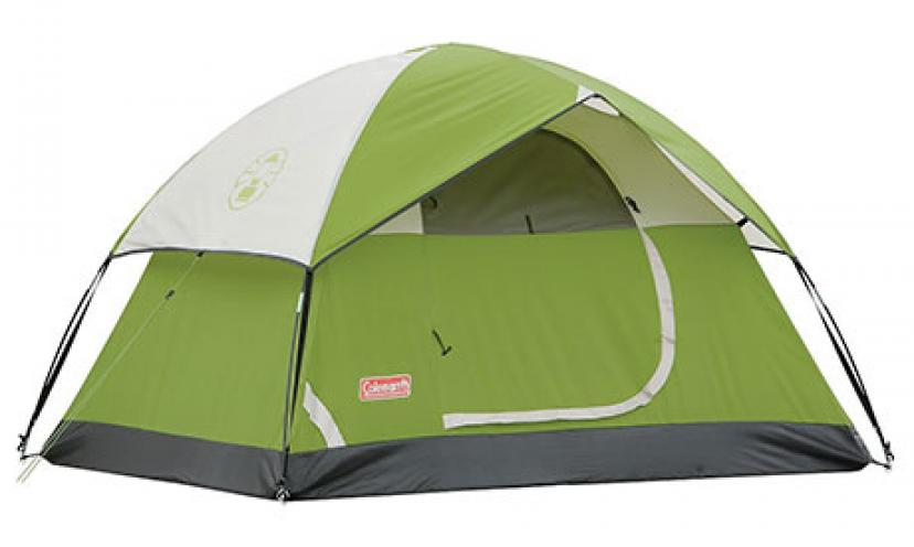 Save 46% on this Coleman Sundome 2-Person Tent!