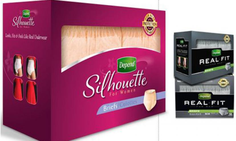 Get a FREE Depend Sample Pack For Women!