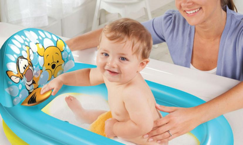 Get the Disney Inflatable Bathtub for 65% Off!