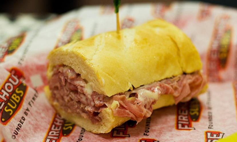 Get a FREE Sub Sandwich {From Firehouse Subs} on Your Birthday!