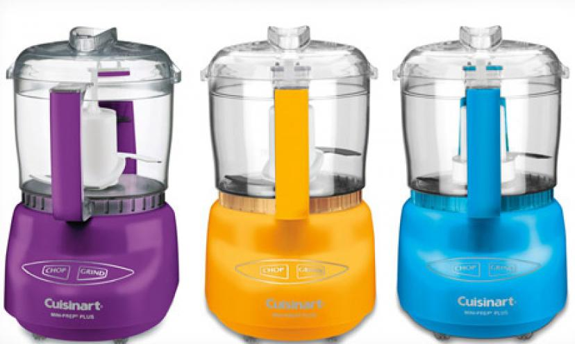 Get the Cuisinart Mini Prep Plus Food Processor for Half the Price!