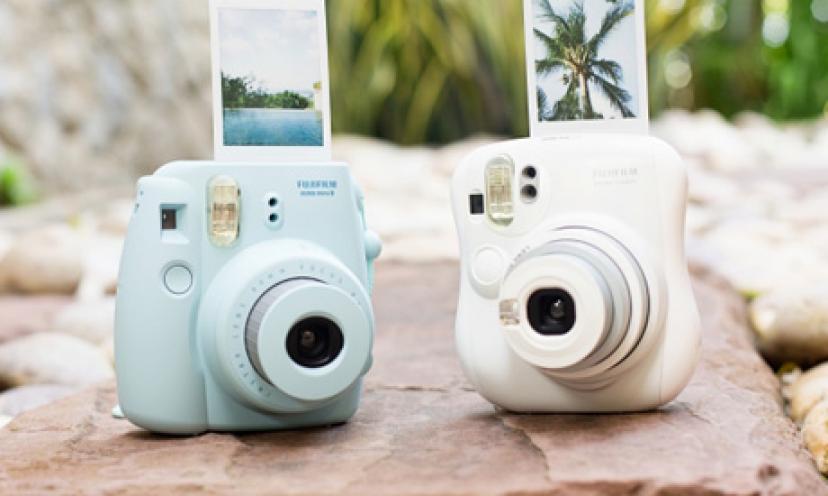 Enjoy 40% Off The Fujifilm Instax Mini 8 Instant Film Camera!