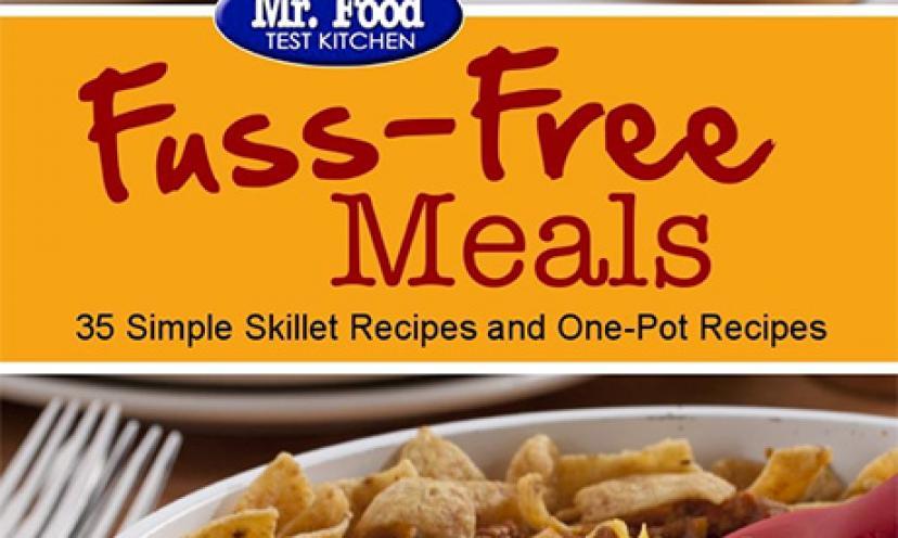 Free eCookbook: Fuss-Free Meals!