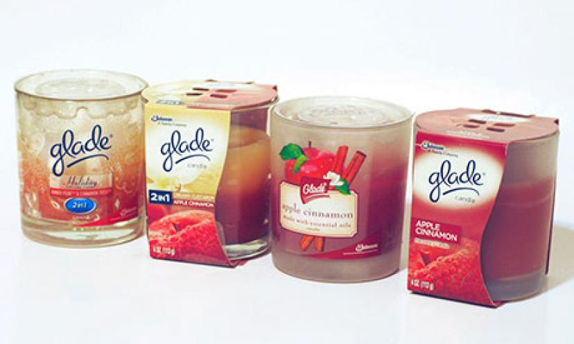 Glade Jar Candles: $1.00 Off Two!