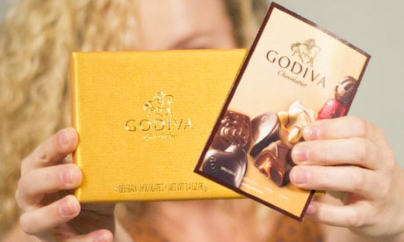 Sign Up For The Godiva Rewards Club & Get FREE Chocolate!