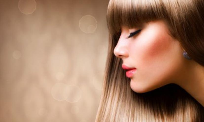 Save 74% On a Zebra Print Ceramic Hair Straightener!