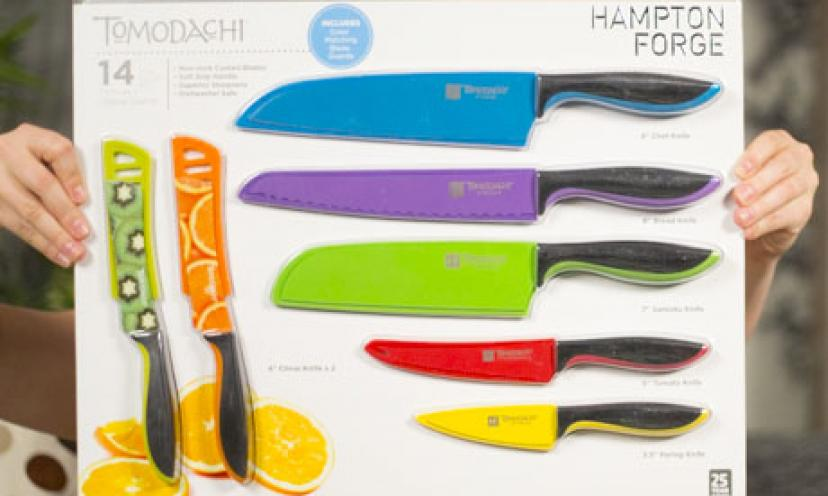Save 50% on Hampton Forge Todomachi knives!