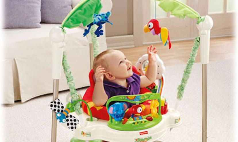 Enjoy 15% Off The Fisher-Price Rainforest Jumperoo!