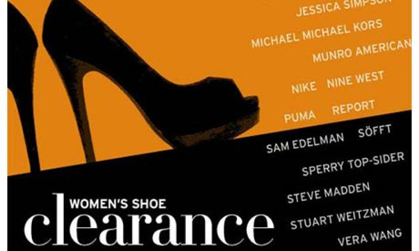 Save Big with Nordstrom's Shoe Sale!