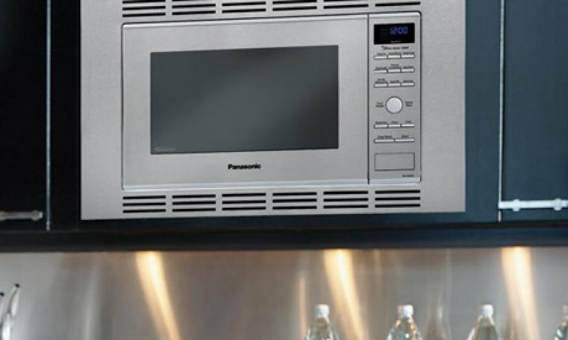 "Save Up to 37% On a Panasonic Genius ""Prestige"" Sensor Microwave!"