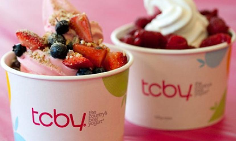 Treat Dad to a {Frozen Yogurt} from TCBY – FREE!