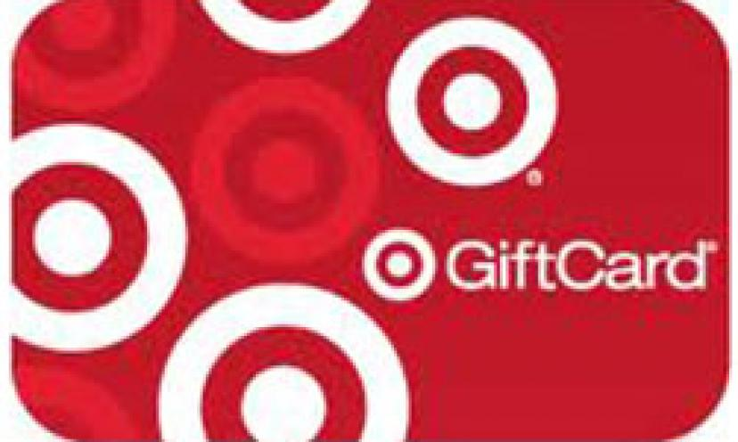 Get a Free $2 Target Gift Card – Right Here!