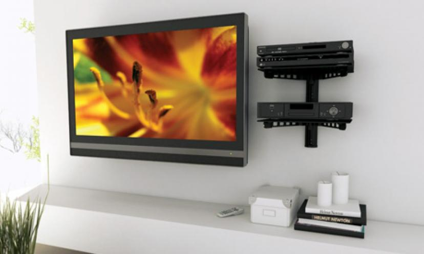 Save 80% On a 3 Tier Electronic Component Shelf Wall Mount!