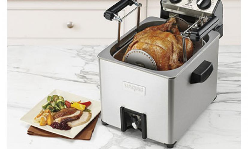 Save 49% on the Waring Pro Professional Rotisserie Turkey Fryer/Steamer!