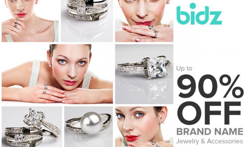 Get Jewelry Savings With 1 Jewelry Auctions At Bidz Com Get It Free