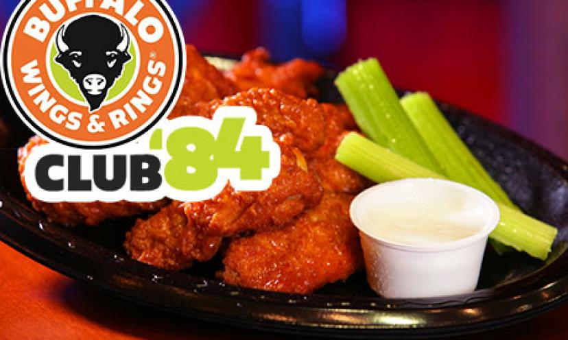 Get Freebies and Coupons From Buffalo Wings & Rings!