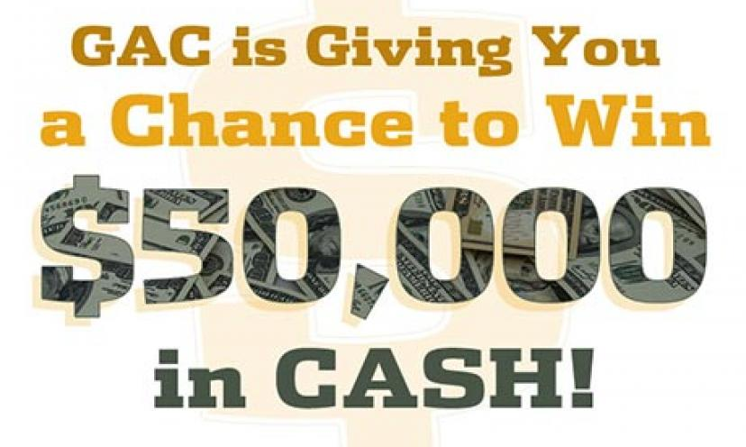 Enter now to win $50,000 in cash!
