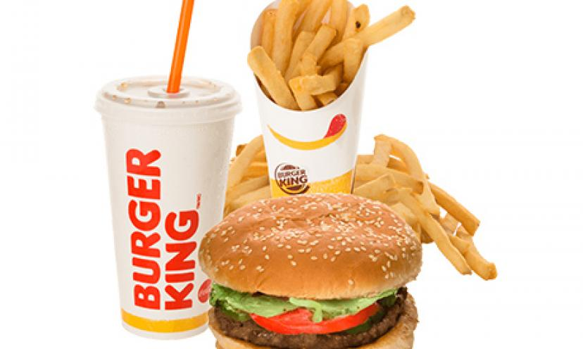 Free Burger King Samples!