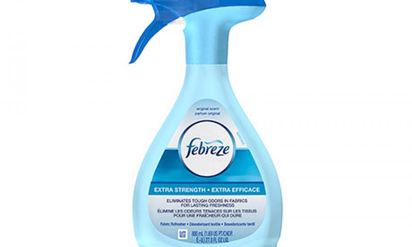 Save $1.00 Off One Febreze Fabric Refresher!