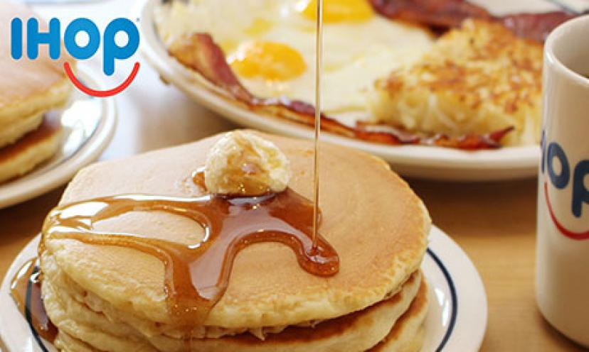 Get Three FREE Meals From IHOP!