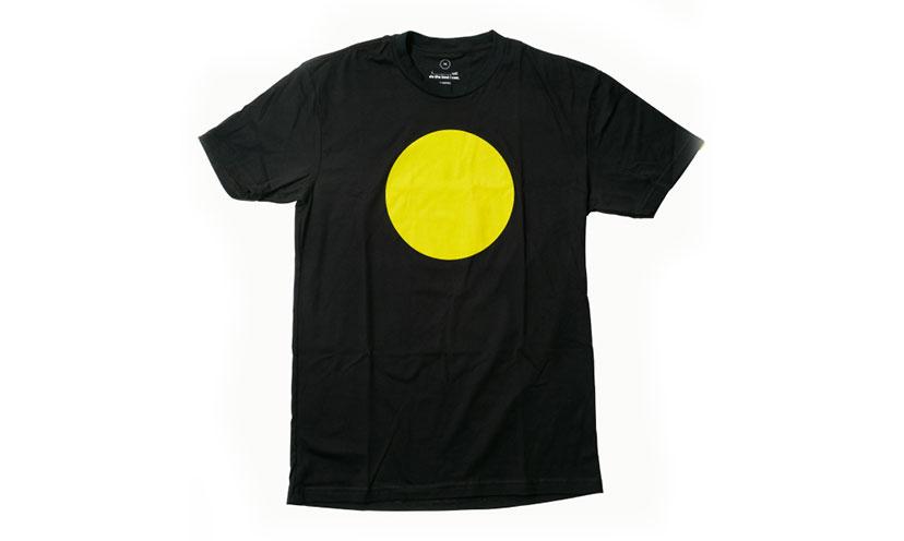 Get a FREE Yellow Circles Shirt!