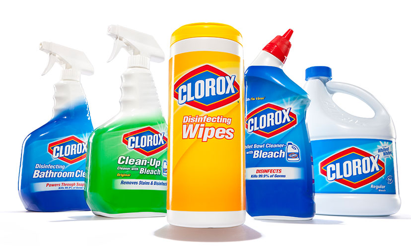 Get $1.00 off any Two Clorox Products!