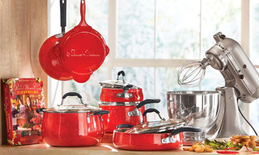Enter to Win a KitchenAid Mixer and a Pioneer Woman Cookware Set!