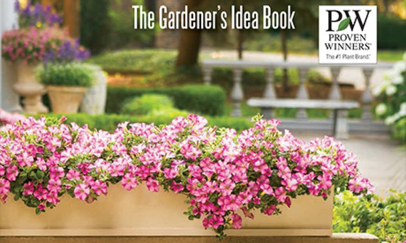 Get Ready to Garden With a FREE Gardener's Idea Book!