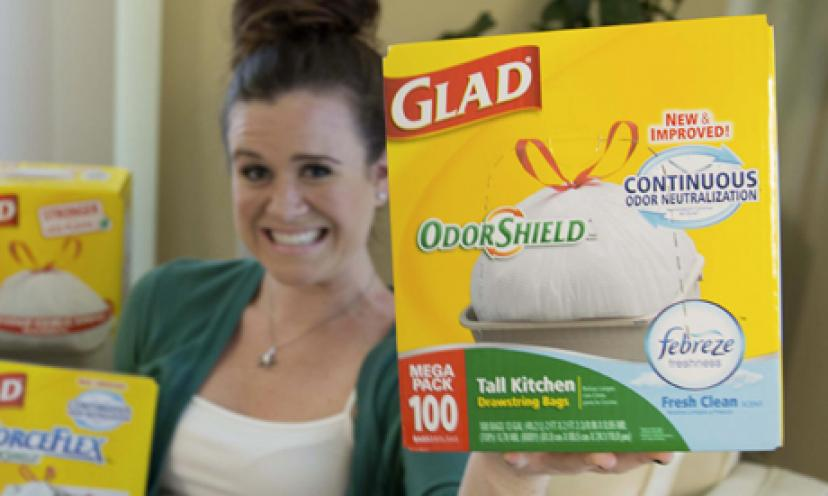 Get Free Glad Trash Bags by Mail!