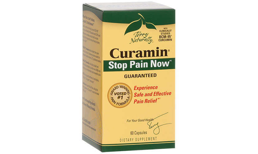 Get a FREE Sample of Curamin Pain Relief Supplements!