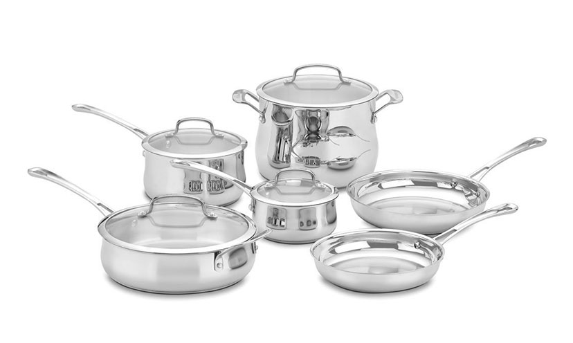 Save Over $300 Off On a Cuisinart Cookware Set!