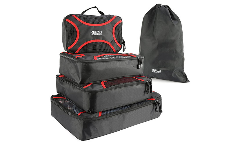 Save 80% Off On EZOWare Travel Packing Cubes!