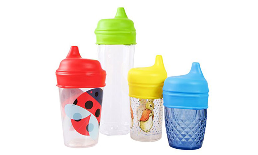 Save 50% Off On A Set Of Tiny Angel Sippy Lids!