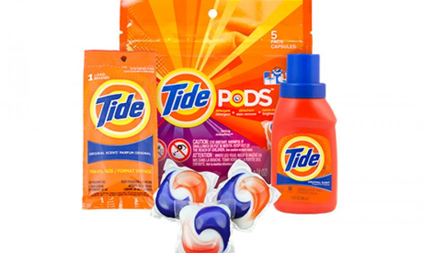 Free Tide Sample!